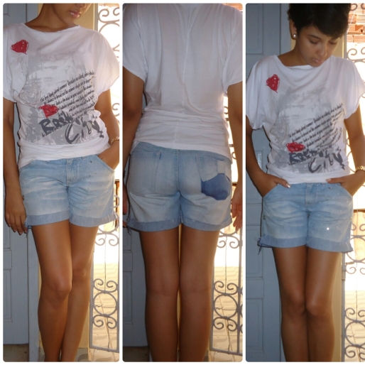 Estilo S, Quinta-Feira DIY, Shorts Fofo, Moda