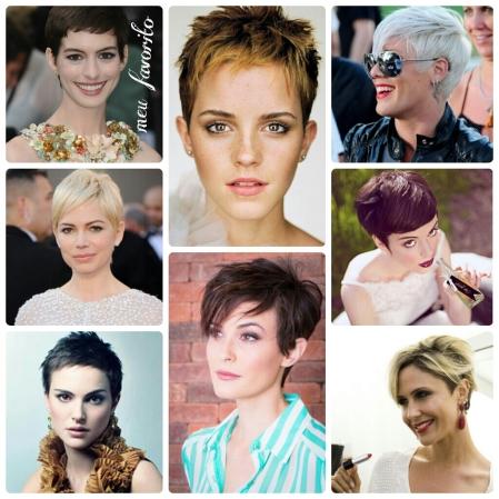 Short Hair, Cabelinhos, Atrizes, Anne Hathaway, Nathalie Portman, Michelle Williams, Emma Watson, Pink, Guilhermina Guinle, Paixão