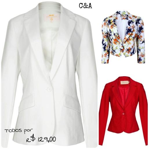 Estilo S, Desejo do Dia, Terninhos, Feminino, Moda, Fashion, C&A