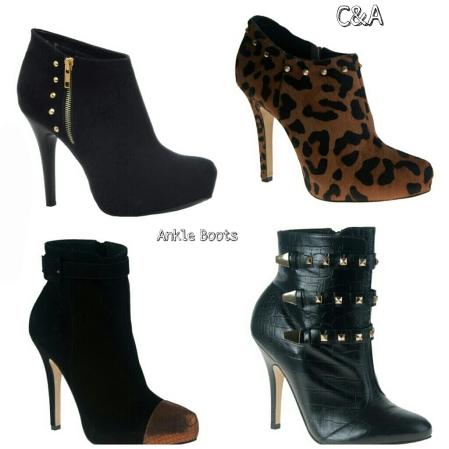 Ankle Boots, Desejo do Dia, Moda, Outono, Inverno, Dicas, Fashion, C&A