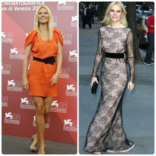 Dicas, O que vestir, silhueta retângulo, famosas, Gwyneth Paltrow, moda