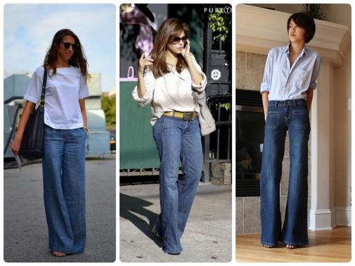 Calças Jeans, Dicas, Moda, Estilo S, Boca de Sino