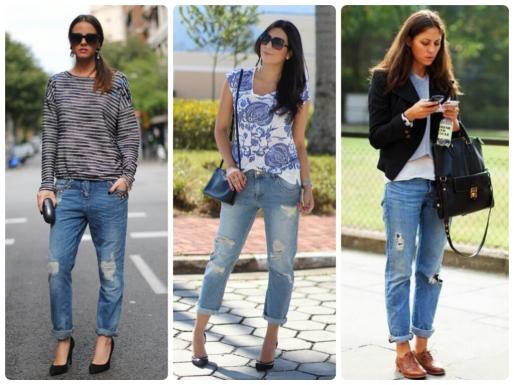 Calças Jeans, Dicas, Moda, Estilo S, Boyfriend