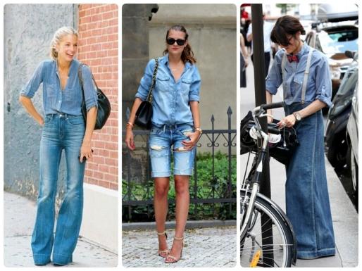 Calças Jeans, Dicas, Moda, Estilo S, Double Denim