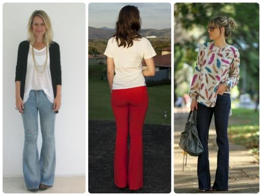 Calças Jeans, Dicas, Moda, Estilo S, Flare