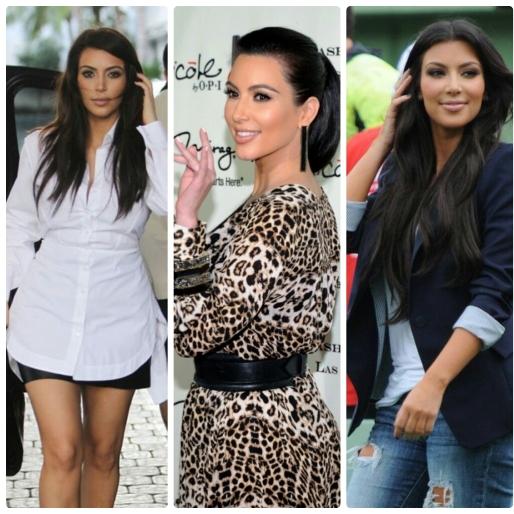 Dicas, Ampulheta, Moda, O que vestir, Decote, Cintura, Físico Ideal, Looks Kim Kardashian