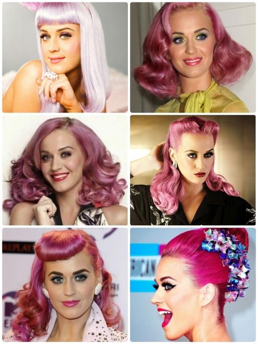Estilo S, Desejo do Dia, Katy Perry, Cabelos, Mudanças, Cabelos Coloridos