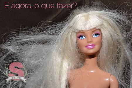 Estilo S, DIY, Dicas, Boneca, Cabelo de boneca, Progressiva, Reformando cabelos, Infância, Criança