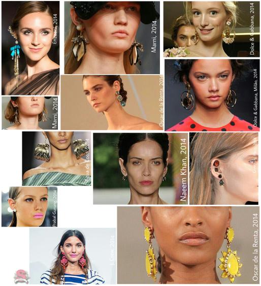 Estilo S, Tendências, Acessórios, Verão 2014, Earrings, Brincos, Maxibrincos, Brincos Coloridos, Dicas