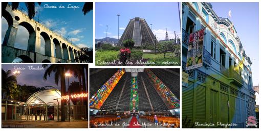 Diário de Bordo, Rio de Janeiro/RJ, RJ, Viagem Cultural, Arcos da Lapa, Circo Voador, Fundição Progresso, Catedral de São Sebastião