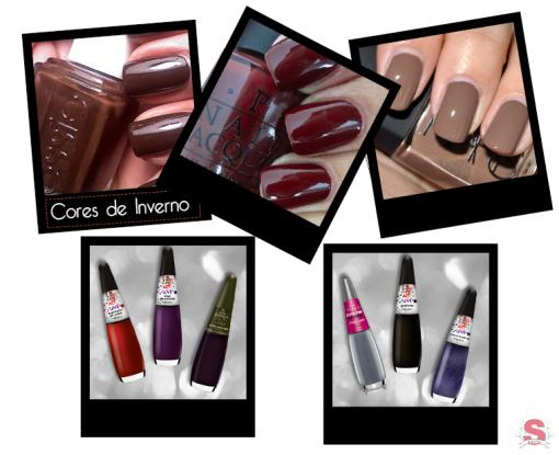 Estilos, Fall/Winter 2014, Outono/Inverno 2014, Outono, Inverno, Fall, Winter, Tendências, Unhas, Nails, Nails Art, Burgundy