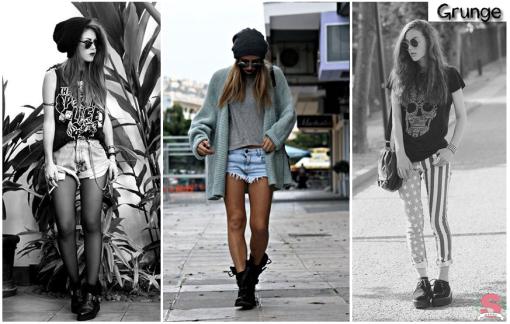 Estilos, Grunge Style, Grunge, Fall/Winter 2014, Outono/Inverno 2014, Outono, Inverno, Fall, Winter, Tendências