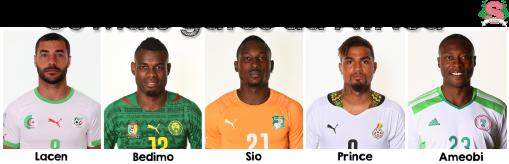 Africanos, Copa, Gatos da Copa, Argélia, Camarões, Costa do Marfim, Gana, Nigéria, Estilo S