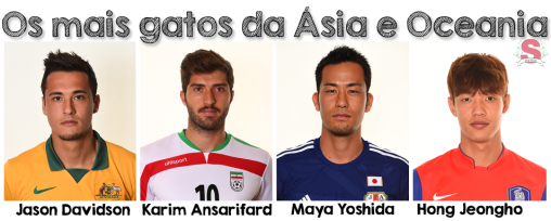 Asiáticos, Copa, Gatos da Copa, Austrália, Irã, Japão, Coreia, Estilo S