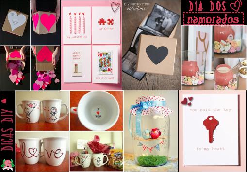 Dicas DIY, Dia dos Namorados, 12 de junho, Valentine's Day, Estilo S, Amor, Namorados