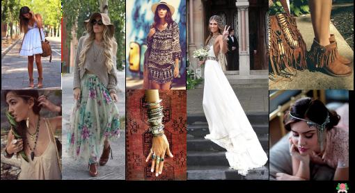 Fashion Trend, Tendência, Inverno, Boho Girls, Boho Chic, Boho Romantic, Hippie, Étnico, Boêmio, Bohemian, Inspiração
