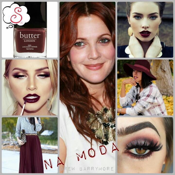 Estilo S, Pantone, Marsala, Cor de 2015, 2015, Moda, Make, Maquiagem, Fashion